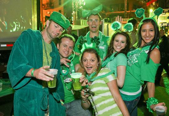 Saint Patrick's day: 17 Mars